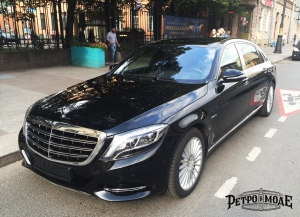 Mercedes Maybach Black